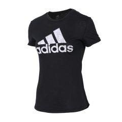 adidas/阿迪达斯 女 杨幂同款 GFX FOIL经典基础LOGO圆领透气运动休闲短袖T恤 DM3106/CD1952/CV5103/CV5102/CX5186/DM5320/DM5345图片