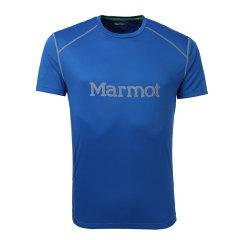 MARMOT/土拨鼠春夏户外新款轻薄宽松圆领速干短袖男T恤F54300图片