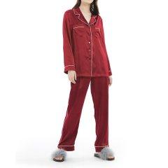 【DesignerWomenwear】LILYSILK/莉莉秀客女睡衣/家居服真丝睡衣22姆米百分百桑蚕丝家居外穿2266图片