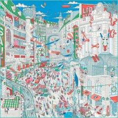 HERMES/爱马仕  丝巾 三色可选 018792 粉蓝色 方形图片
