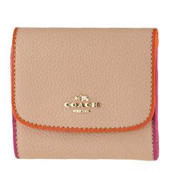 COACH/蔻驰 牛皮 女士短款钱包钱夹卡包 11824图片