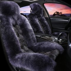 pinganzhe 汽车新款冬季狐狸毛座垫 汽车羊毛和狐狸毛结合座垫  汽车座垫图片