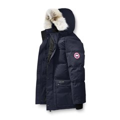 CANADA GOOSE/加拿大鹅 男士狼毛领白鸭绒羽绒服图片