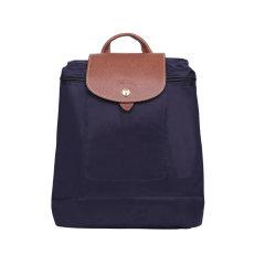 Longchamp/珑骧 尼龙/皮革女士折叠双肩包 1699图片