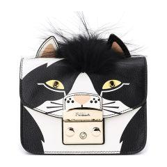 【Designer Bags】FURLA/芙拉牛皮革牛剖层革材质动物印花图案女士单肩斜挎包图片