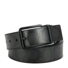 【包税】COACH/蔻驰 男士PVC双面两用针扣腰带 可裁剪 64839 多色可选图片