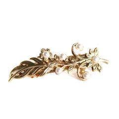 【Designer Jewelry】Avigail Adam美国纽约手工制造艺术风格女式Blooming系列繁花系列珍珠弹簧夹Blooming Swirls Hair Clip图片