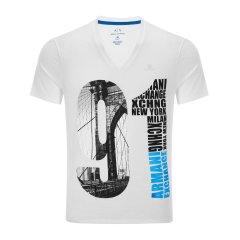 ARMANI EXCHANGE/ARMANI EXCHANGE阿玛尼休闲系列男士短袖T恤-男士T恤图片