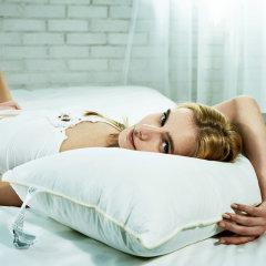 fossflakes进口可水洗中高/中低枕51*91cm  购买2只枕芯,送配套枕套1只图片
