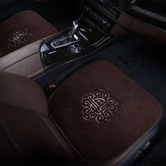 NATU 汽车冬季进口羊绒坐垫 汽车羊毛坐垫 羊毛三件套坐垫 短羊毛座垫图片