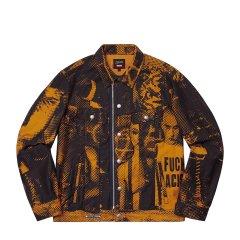 【预售】Supreme 19SS Jean Paul Printed Trucker Jacket 夹克图片