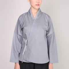 JLMT/净莲满堂 宋风小袖短衫 捻线布 女中式其他图片
