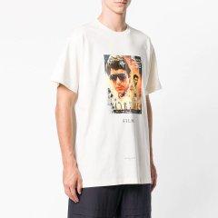 IH NOM UH NIT/IH NOM UH NIT 人像印花男士短袖T恤全棉图片