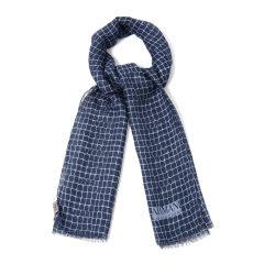 ARMANI COLLEZIONI/阿玛尼卡尔兹围巾-男士围巾面料:56莫代尔41亚麻3桑蚕丝图片