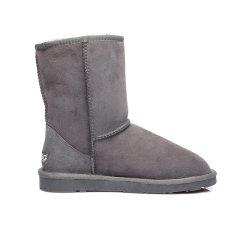 【澳洲直邮】Everugg澳洲雪地靴品牌 中筒经典系列保暖防滑羊皮毛一体雪地靴女鞋子11801图片