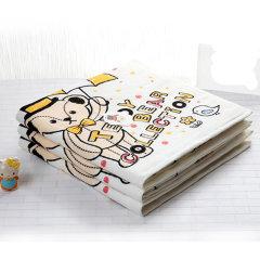 UCHION/内野 泰迪缤纷印花浴巾图片