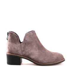 Neiliansheng/内联升女式反絨矮跟拉锁鞋4813C图片