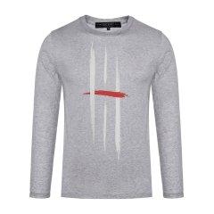 IDEAGE/艾迪芝 美国潮牌 个性涂鸦印花男士长袖T恤 两色可选  ID173203图片