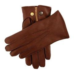 Dents/Lumley 男士直毛羊皮手套 手工缝制 皮质细腻柔软图片