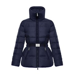 MONCLER/蒙克莱 18秋冬新款ALOUETTE女士深蓝色收腰羽绒服 (2色可选)图片