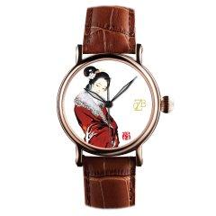 zhangdao/张稻 双面陶瓷手表之赖德万庆 自动机械腕表图片