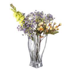 Nachtmann德国进口水晶玻璃花瓶创意时尚欧式风格花瓶花艺薰衣草百合富贵竹饰品摆件 30.5厘米图片