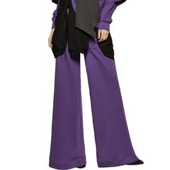 TALY&TIAN/TALY&TIAN女士休闲裤18秋冬新品高腰宽松微喇休闲长裤图片