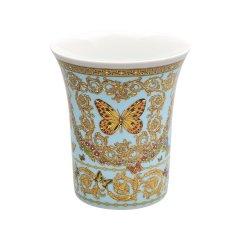 Rosenthal Meets Versace 卢臣泰邂逅范思哲高端蝴蝶花园系列花瓶装饰摆件 26厘米花瓶图片