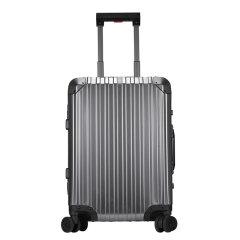 WAAGE/WAAGE MarkusII铝镁合金系列 全金属中性款式登机箱拉杆箱20寸  电磁灰/音速银图片