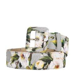 Dolce&Gabbana/杜嘉班纳  女士复古印花针扣腰带 BE1220AE549 灰色 85图片
