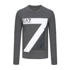 2017年秋冬新品 Emporio Armani/安普里奥阿玛尼 EA7 男士长袖T恤 95.00%棉+5.00%氨纶 6YPTC3-PJ03Z图片