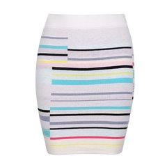【Designer Womenwear】【18春夏】GORGOR/GORGOR女士半身裙针织条子包裙18SVSKF269图片