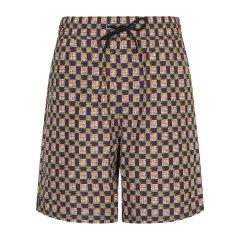 【19春夏】BURBERRY/博柏利 男士短裤 简约抽绳设计印花男士短裤图片