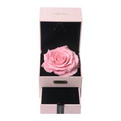 JoyFlower情人节进口永生花礼盒生日礼物十二星座守护首饰盒图片