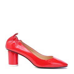 BENATIVE/本那2018春夏新品女士跟鞋 时尚纯色圆头粗高跟鞋浅口单鞋图片