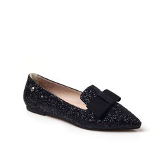 Ozwear ugg/Ozwear ugg  平跟鞋 春夏新款 渐变格利特 浅口尖头平底单鞋女 308图片