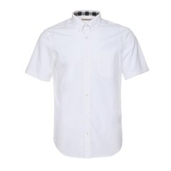 BURBERRY/博柏利  巴宝莉 男士短袖弹力棉府绸衬衫 4004721图片
