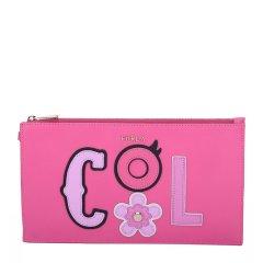 FURLA/芙拉 女士品牌标志皮质手拿包 手包 EQ20图片