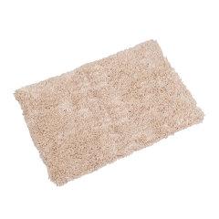 利快OKA日本进口吸水卫浴地垫日式腈纶长毛防滑浴室地垫 三种尺寸任选 米色小号图片