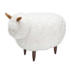 Yousuo/有所 小咩坐墩设计师原创可爱羊动物脚凳换鞋凳有所牧场图片