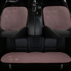 pinganzhe   汽车新款冬季羊毛三件套坐垫 汽车羊毛单片短毛座垫 汽车雪花款座垫图片