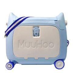 魔禾(muuhoo)多功能儿童行李箱0-8岁旅行箱可骑可做睡床登机箱图片