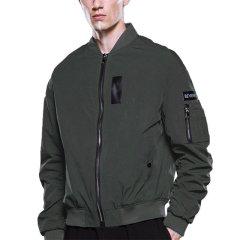 BEVERRY/比菲力 疏水防水棒球服男士夹克飞行员空军外套图片