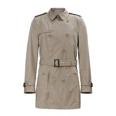 BURBERRY/博柏利 20春夏 男装 服装 男士纯棉经典双排扣风衣 男士大衣图片