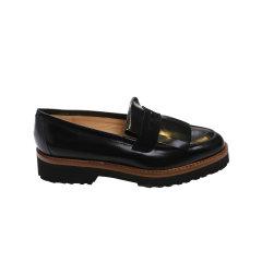 INNIU 牛皮学院风女士乐福鞋图片