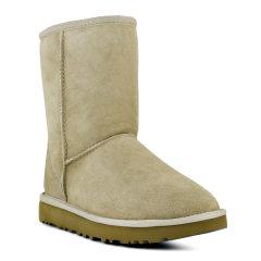【包税】UGG/UGG  经典款雪地靴 防水防污羊皮保暖中筒短靴休闲棉靴女士雪地靴 1016223 W图片