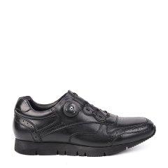 LANDAX/LANDAX 头层牛皮休闲鞋 自动扣带 耐磨防滑 男士 休闲运动鞋图片