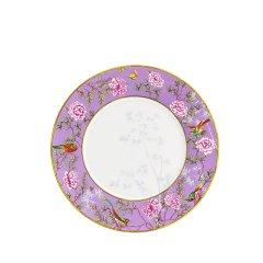 Miracle Dynasty/玛戈隆特 骨瓷 27CM香奈圆平盘 中国花园 展示盘果盘礼品包装图片