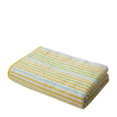 Uchino/内野 单条装吸水速干舒适亲肤彩条浴巾图片