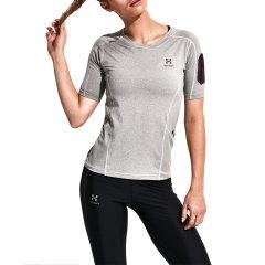 HOTSUIT/HOTSUIT 运动健身短袖女速干弹性训练T恤66092001图片